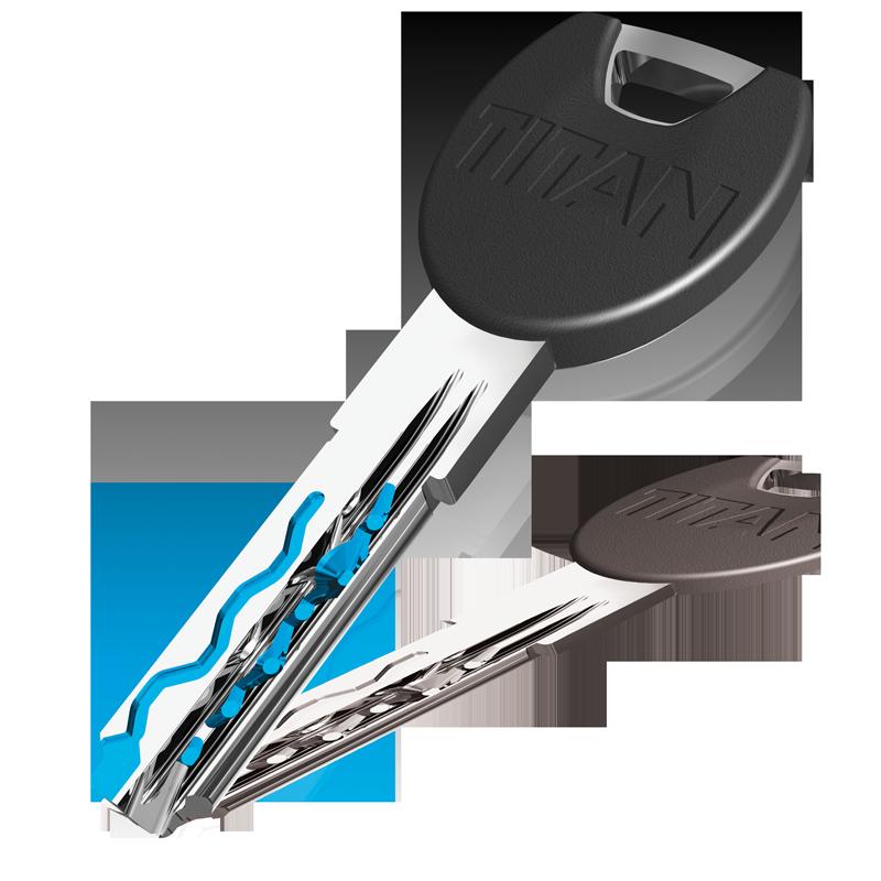 Robustan ključ od novog srebra dostupan u 3 izvedbe