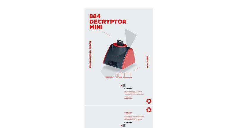 884 Decryptor Mini