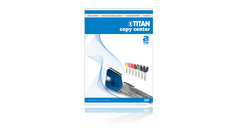 Brošura Titan copy center