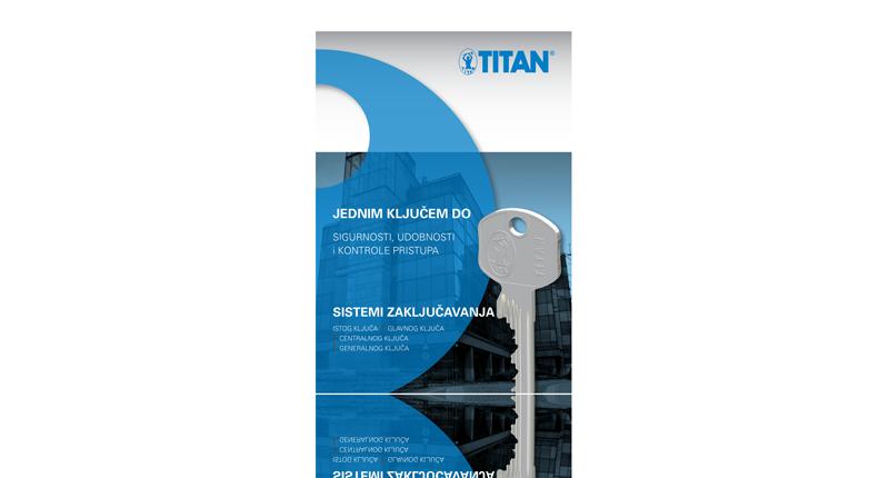 Titan master ključ