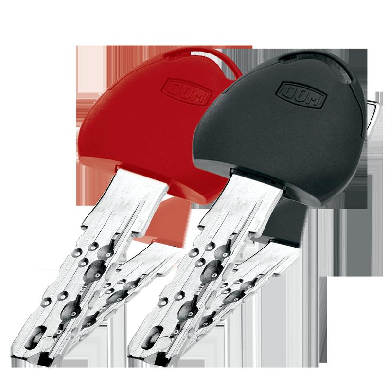 Opcija: crvena i/ili antracit siva kapica na ključu