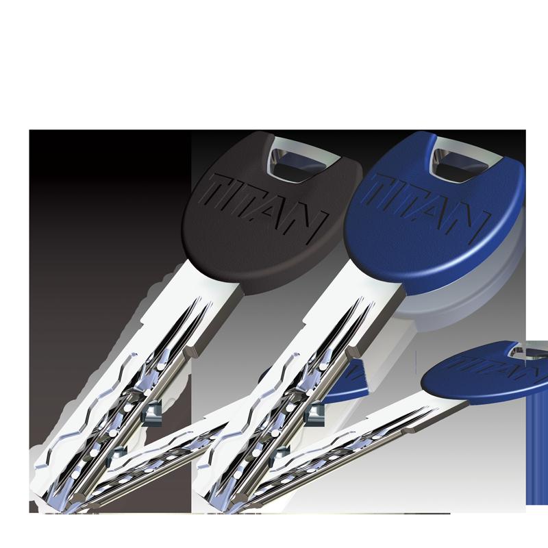 Opcija: plastična glava ključa (plava ili crna)